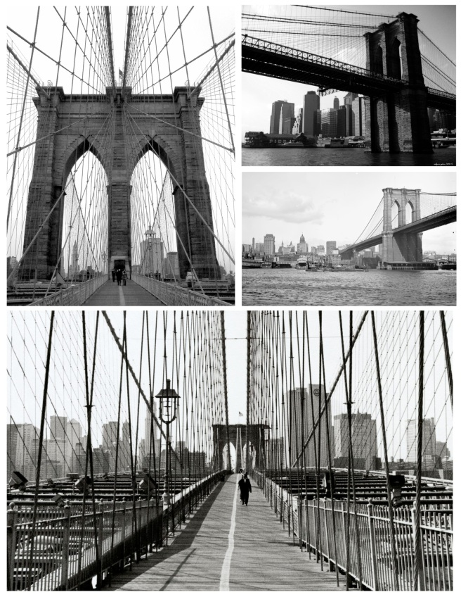 The Brooklyn Bridge:  A Neo-Gothic Cable Suspension Bridge Icon