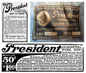 "Vintage Chambray:  ""President"" Chambray"