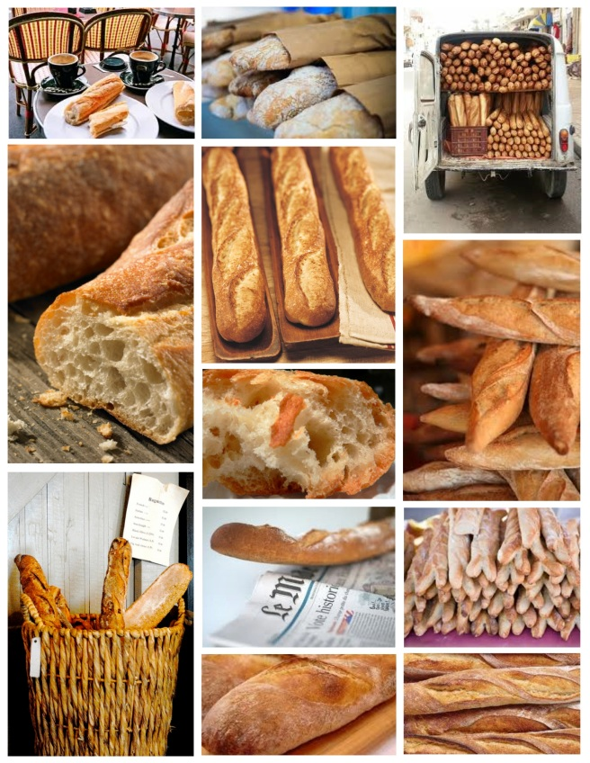 The Art Of the Artisan Boulangerie:  The French Baguette