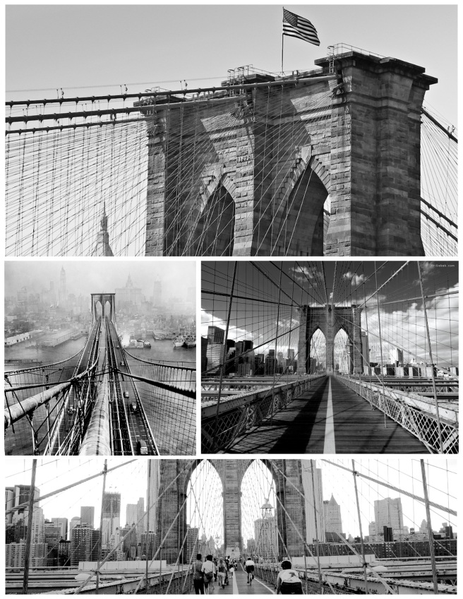 Spanning The East River:  The Connection Of Manhattan and Brooklyn