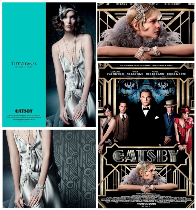 "Tiffany's  Pearls & The Opulence Of The ""Great Gatsby"""