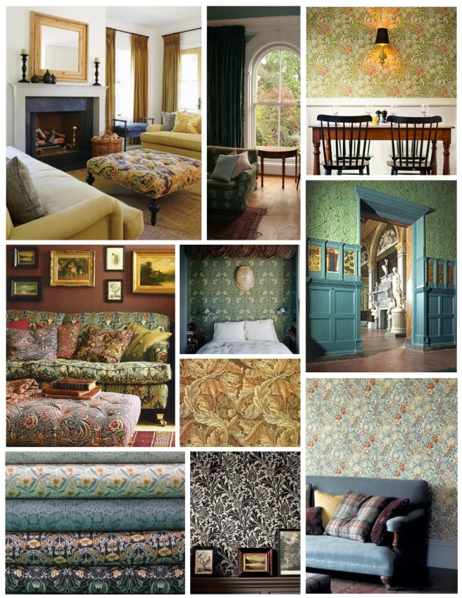 The Natural World Of William Morris:  Interior Embellishment