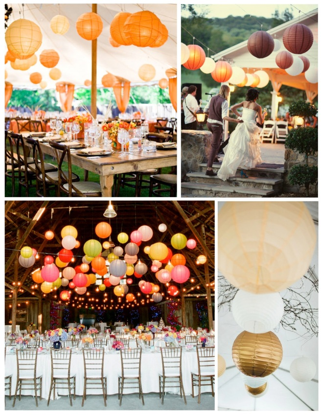The Lightweight Ambiance Of Paper Lanterns