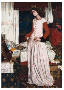 """La Belle Iseult"", 1858  (Jane Burden), Oil On Canvas, William Morris"