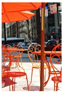 Al Fresco Dining In Chicago