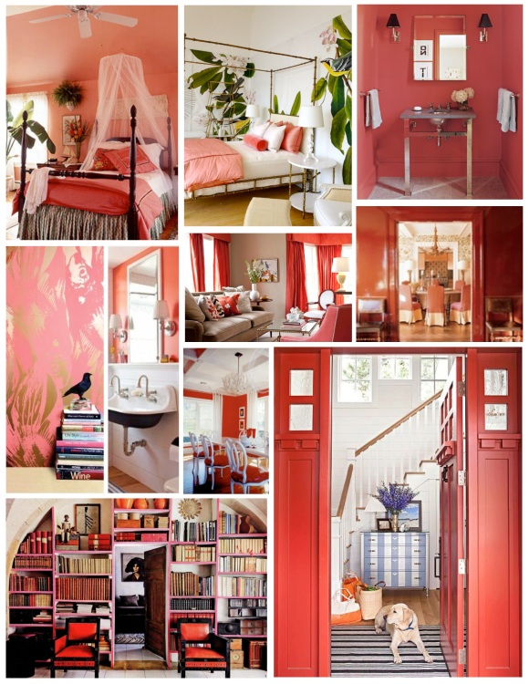 Dwelling In Coral Bliss:  The Delightful Shades Of Coral
