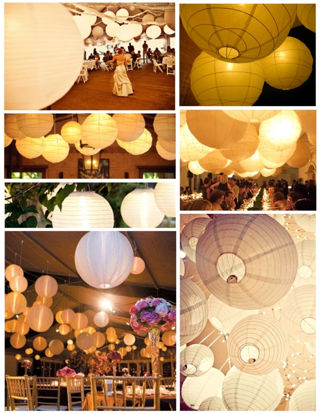 Celebrations With Airy Style:  The Appeal Of  Paper Lanterns