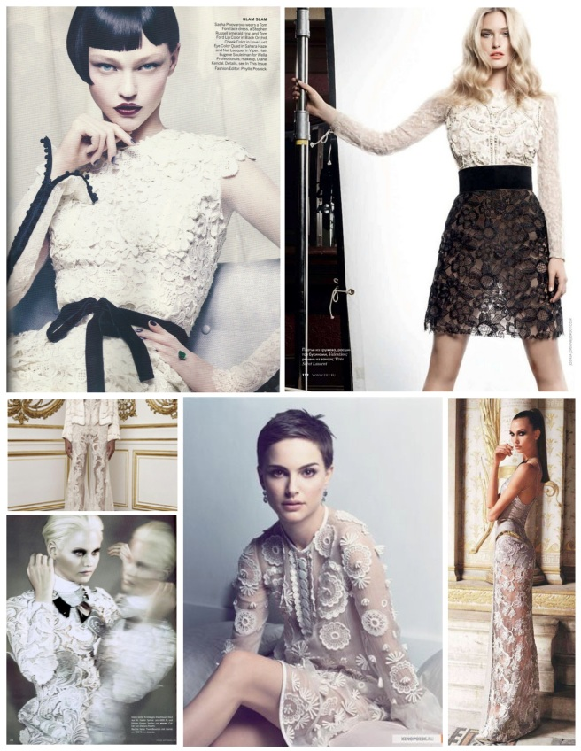 """Elegance Of Timeless Adornment:  White """"Lace"""""""