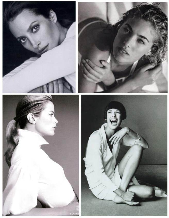 Supermodel Style In White