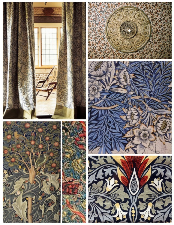 Decorative Art With Medieval Influence:  William Morris Botanicals
