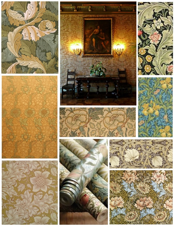 The Embellishment Of Artful Botanicals:  William Morris