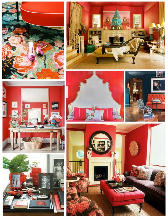 Brilliance Of Visual Intensity In Coral Hues