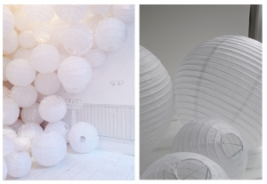 Classic White In Airy Delight:  The Charm Of The Paper Lantern