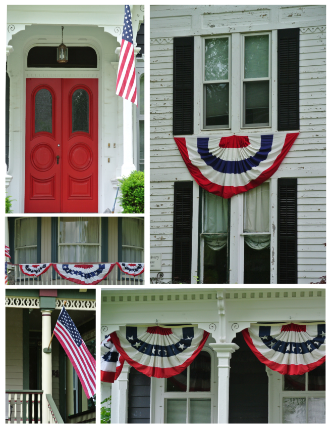 Patriotic Embellishments In Woodstock, Illinois