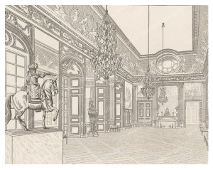 """French Elegance:  The Salon de l'Oeil-de-boeuf"""" (1701) Palace of Versailles"""