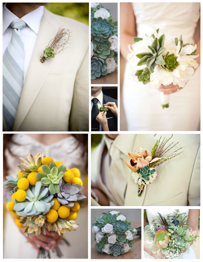Wedding Bliss With Succulent Style