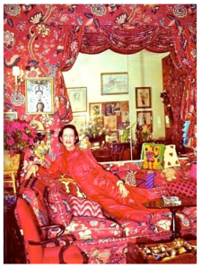 Diana Vreeland:  Embellished In Red