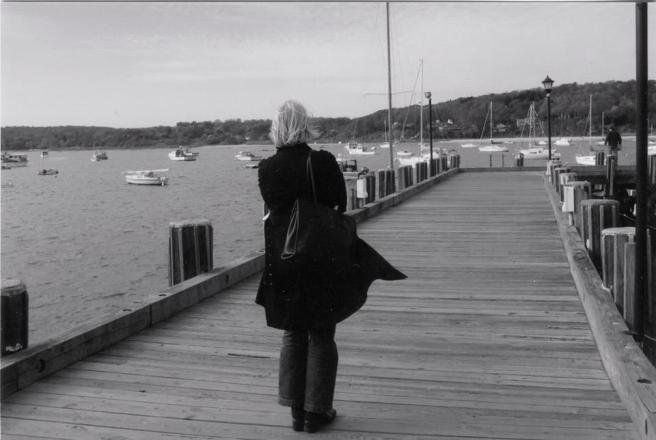 Myself, (circa 2004) On The Dock Of Northport Harbor, Long Island, New York