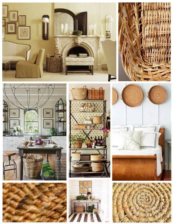 Elements Of Purpose:  Baskets Within The Interior