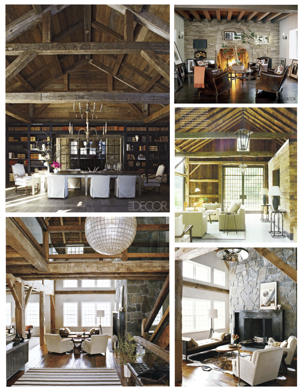 Beams Of Visual Distinction Within The Interior
