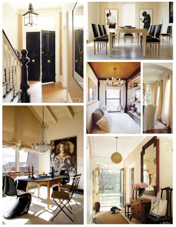 Warm Shades With  Distinction:  Beige Within The Interior