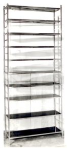 Etagere:  A Vintage Variation Paired With Height