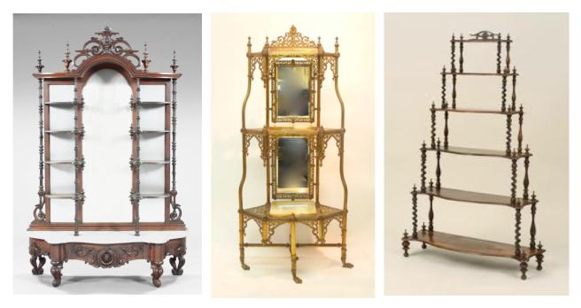 Vintage Structures Of Form & Function:   Étagères