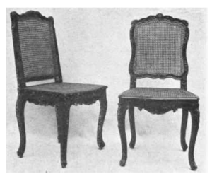 Archival Images Of Caning:  The Cane Chair