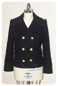 """The Woman's """"Pea Coat"""":  Enduring Style"""