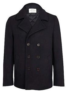 """Woolen Short Topcoat Of Distinction: The Man's """"Pea Coat"""""""