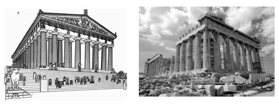 parthenon the masterpiece of greek architecture 51 architectural influence 52 greek ideals of democracy and freedom  site of  four of the greatest masterpieces of classical greek art—the parthenon,  what  makes the structure of the greek architecture of the acropolis.