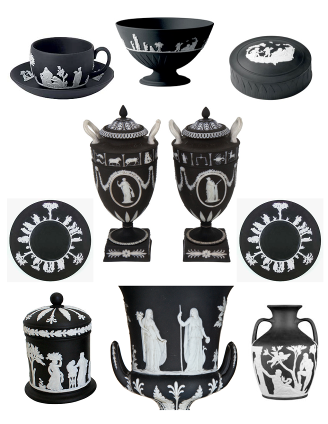 Wedgwood's Black Jasperware:  Bold Statements Of Classical Antiquity