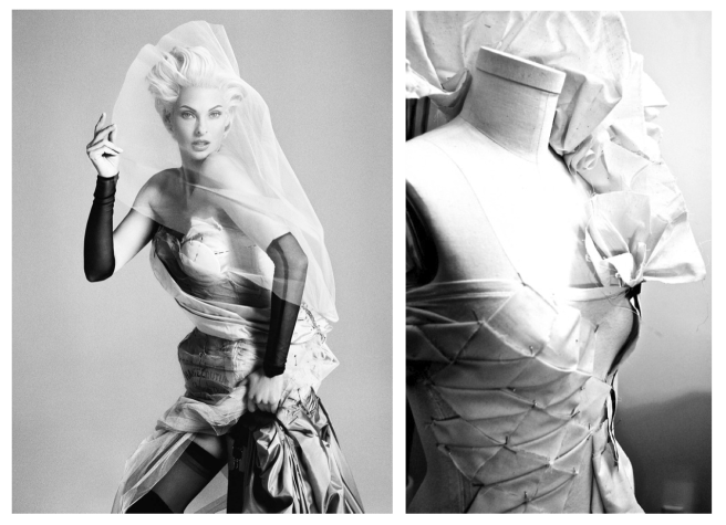 "Iconic ""Supermodel"" Linda Evangelista & The ""Dress Form"""
