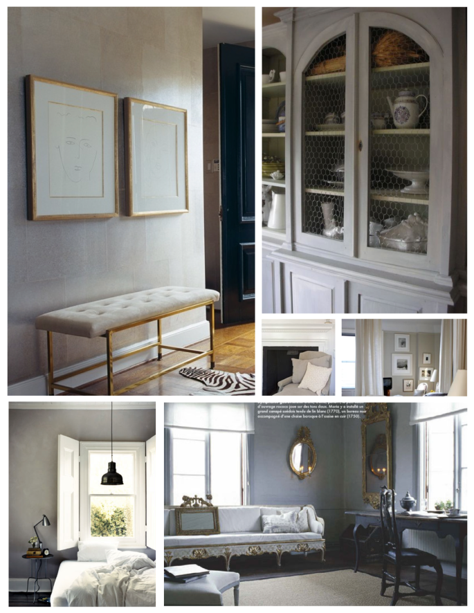 Subdued Elegance:  The Gray Palette Within The Interior