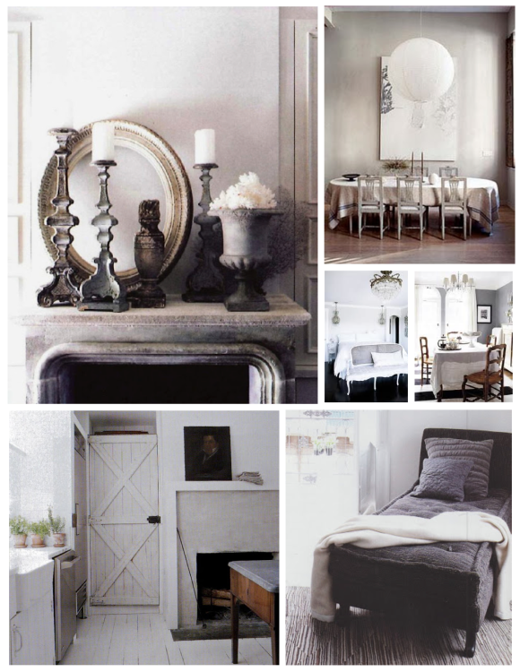 Unassuming Shades Of Gray:  Style & Elegance