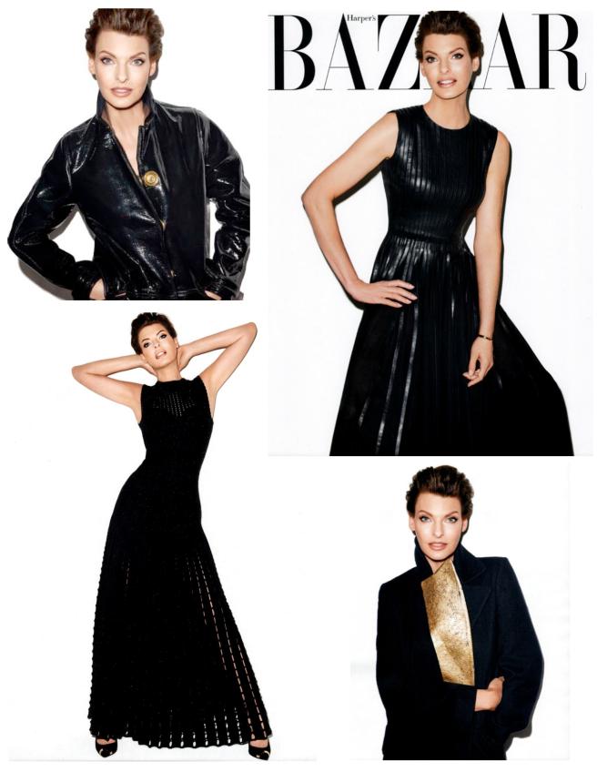 """""""Supermodel"""" Linda Evangelista/ October 2013 Harper's Bazaar"""