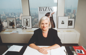 Fashion Force:  Liz Tiberis (1947-1999), Editor In Chief, HARPER'S BAZAAR  (1992-1999)