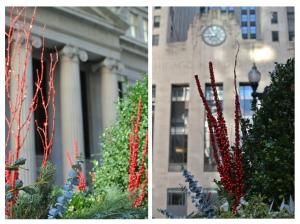 Seasonal Greens & Festive Display  Of The Holidays