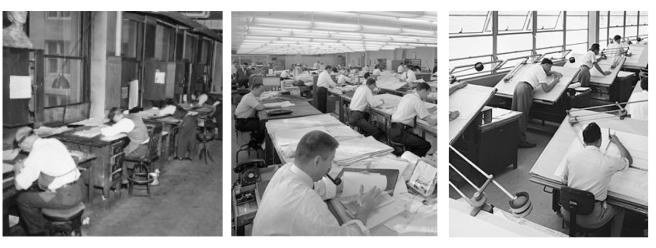 """Vintage Images:  The """"Draftsman"""""""
