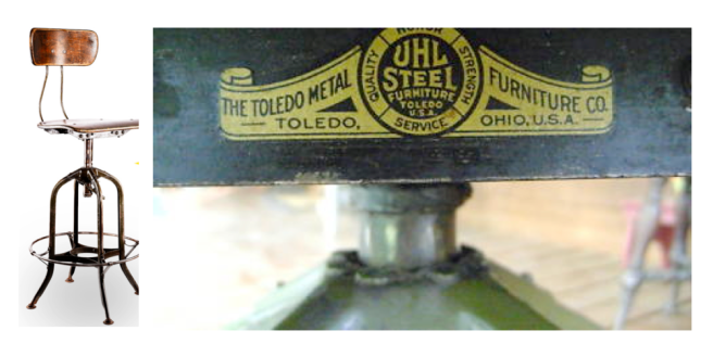 "The ""Toledo Stool"":  1900's Industrial Function & Durablity"
