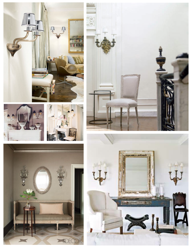Sconces:  Statements Of Distinction Within The Interior
