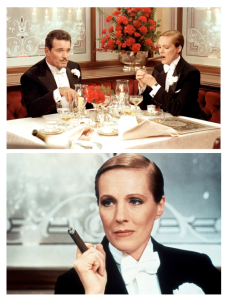 "Julie Andrews In The 1982 Film, ""Victor Victoria"":  Bow-Tied Style"