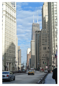 "North Michigan Avenue:  Approaching Chicago's ""Magnificent Mile"""