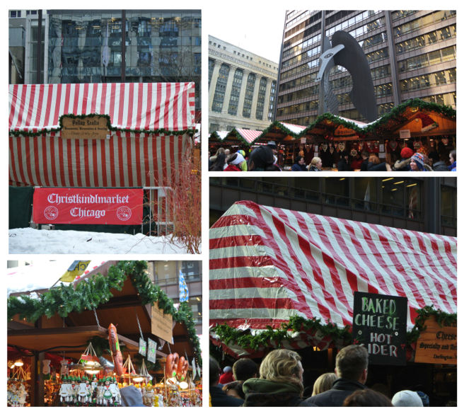"The Daley Center's ""Christkindlmarket""/Chicago Loop"