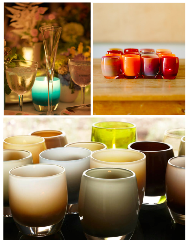 Warm Glow:  glassybaby Vessels Of Inviting Calm