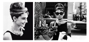 "An Icon Of Embellished Style:  Audrey Hebpurn In ""Breakfast At Tiffany's"""