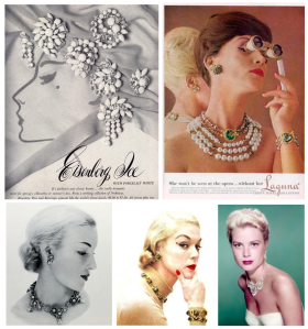 Vintage Adornment & Fashionable Statements Of Jewelry