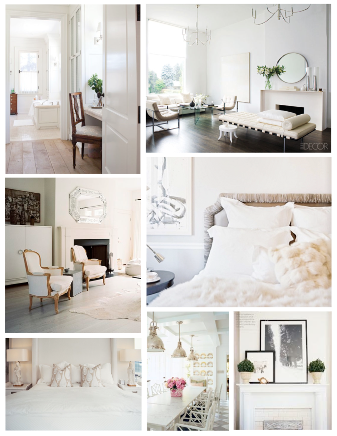Layers Of White Variations Within The Interior