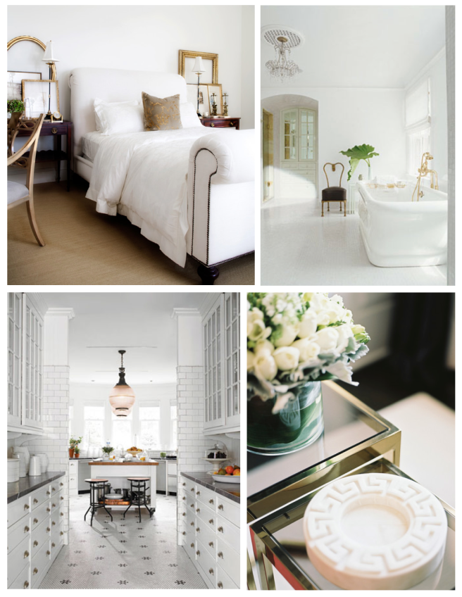 White Delights:  Interiors Coated In White