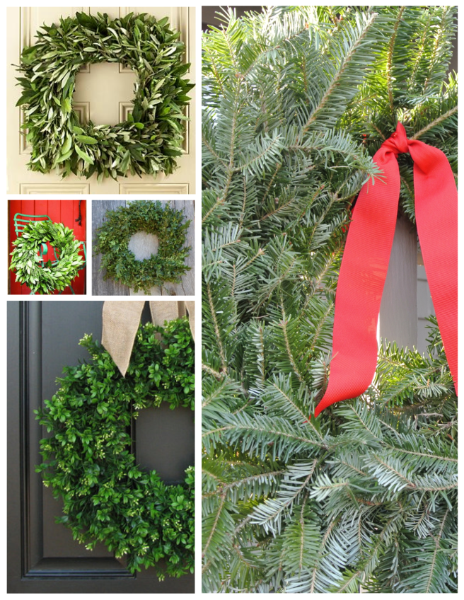 Sprigs Of Pine & Mixed Greenery:  Holiday Delights